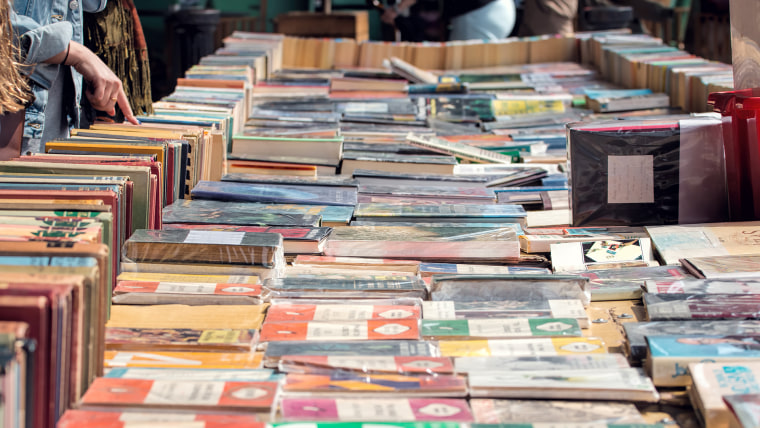 South Bank Second Hand Book Market.