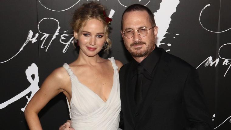 Image: 'Mother!' New York Premere, Jennifer Lawrence, Darren Aronofsky
