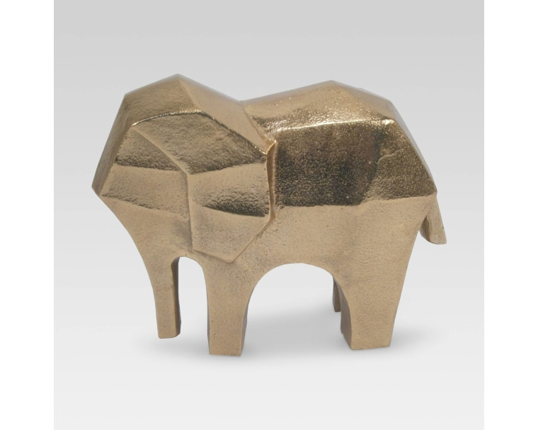 Target Project 62 gold elephant figurine