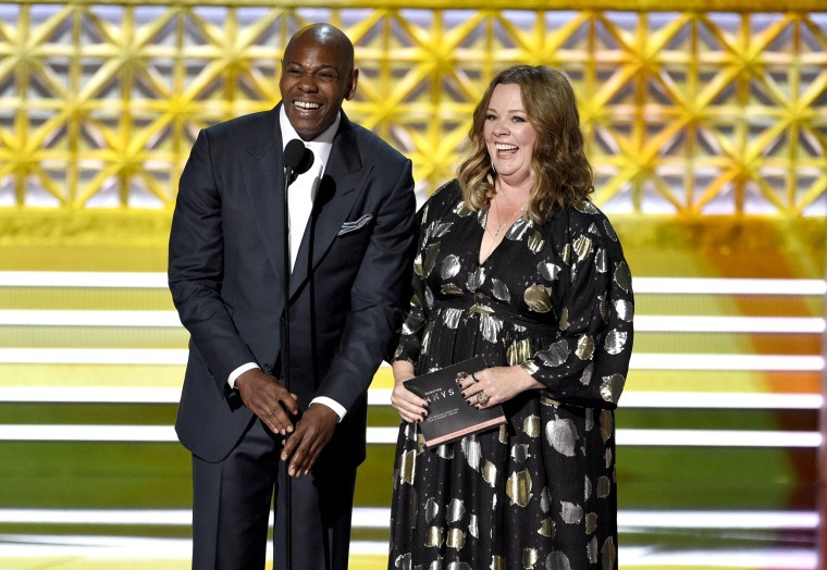 Image: Dave Chappelle, Melissa McCarthy