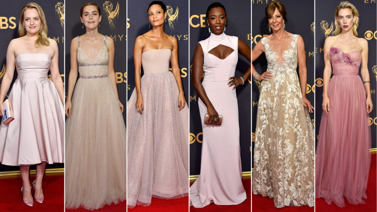 Pink Emmys trend