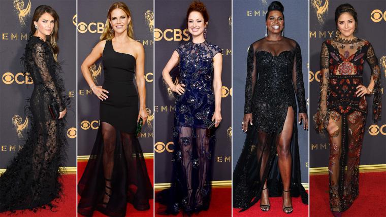 Sheer Emmys trends