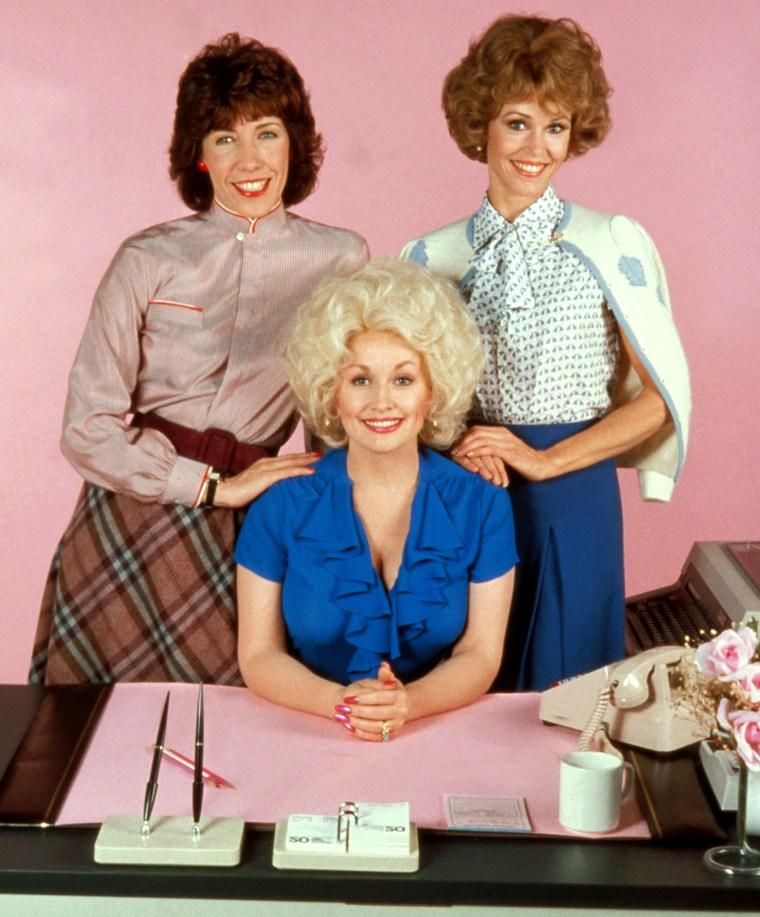 NINE TO FIVE, (aka 9 TO 5), Lily Tomlin, Dolly Parton, Jane Fonda, 1980