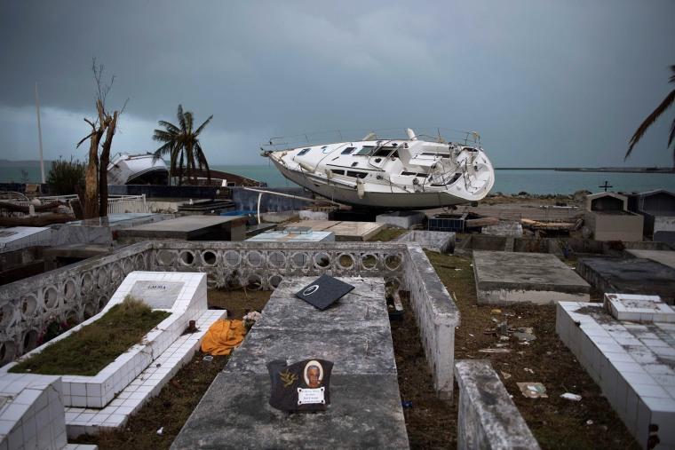 Image: Hurricane Irma hits Saint-Martin
