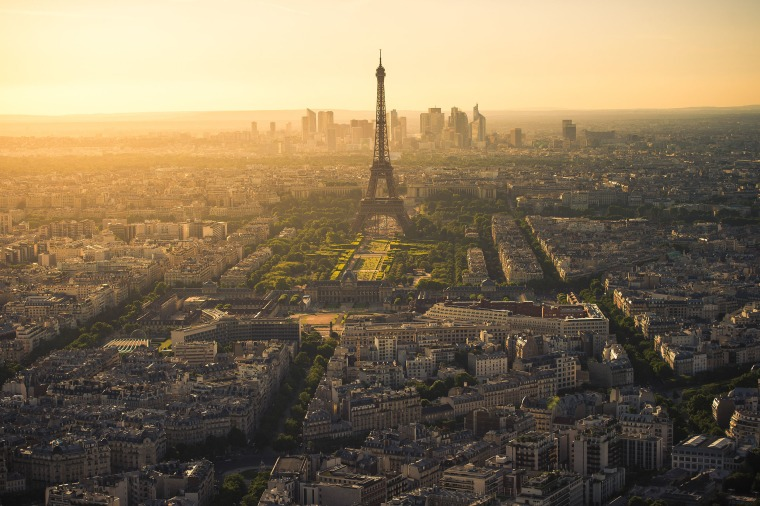 Image: Paris Last light from Montparnasse