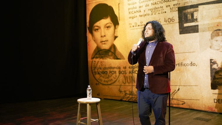 Comedian Felipe Esparza.