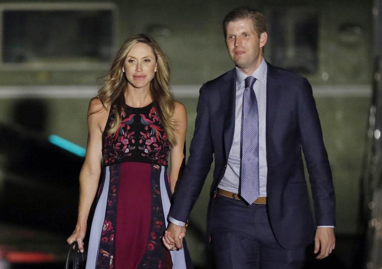 IMAGE: Lara Trump and Eric Trump