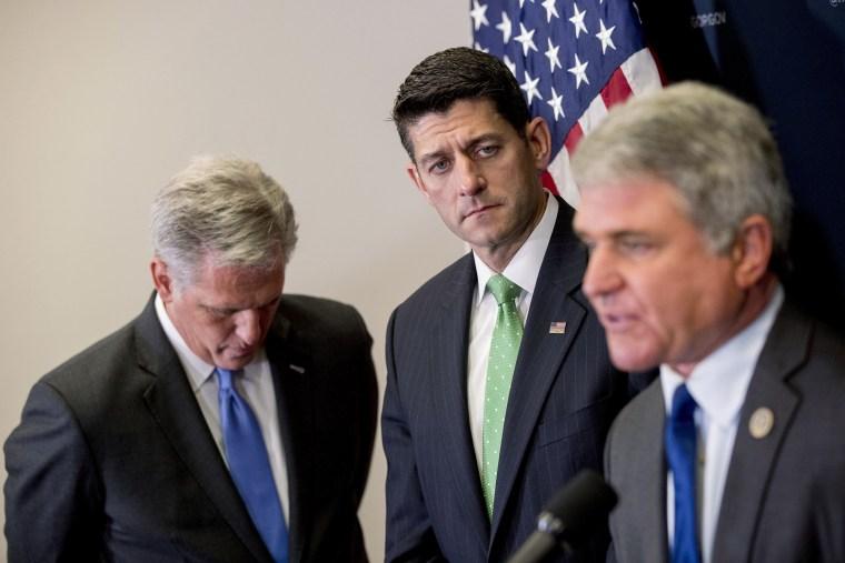 Image: Paul Ryan, Kevin McCarthy, Michael McCaul