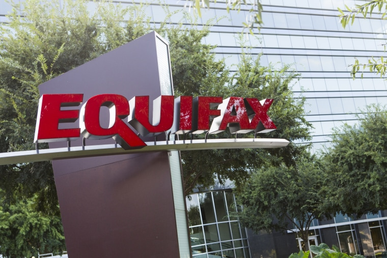 The headquarters of the consumer credit rating firm Equifax in Atlanta.