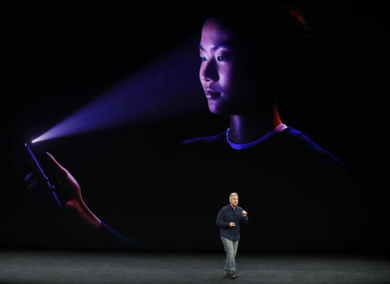 Image: Apple's Schiller introduces the iPhone x during a launch event in Cupertino