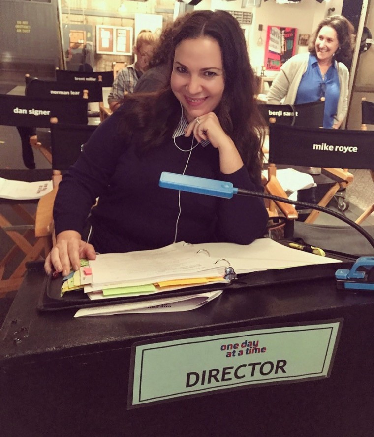 """One Day at a Time"" co-creator and executive producer, Gloria Calderon-Kellett."