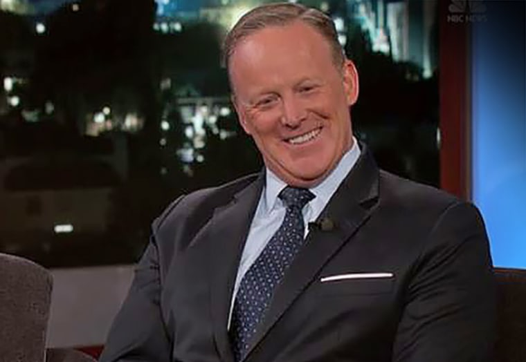 "Sean Spicer on ABC's ""Jimmy Kimmel Live"""