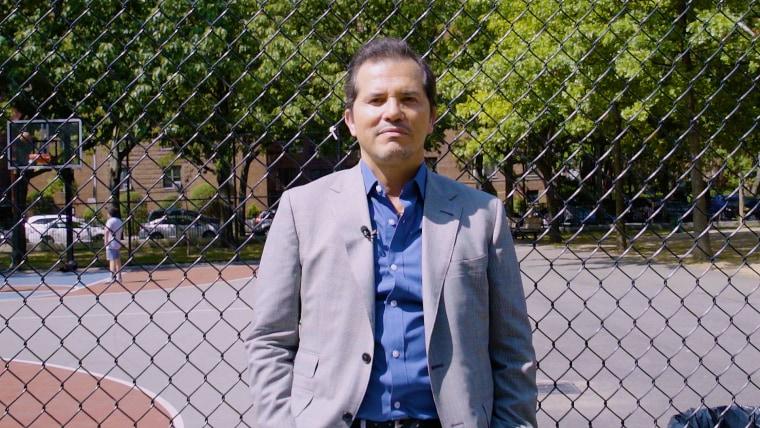 John Leguizamo in his old neighborhood of Jackson Heights, Queens, August, 2017.