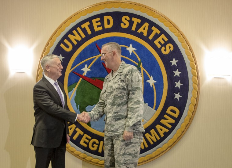 Image: James Mattis and John E. Hyten