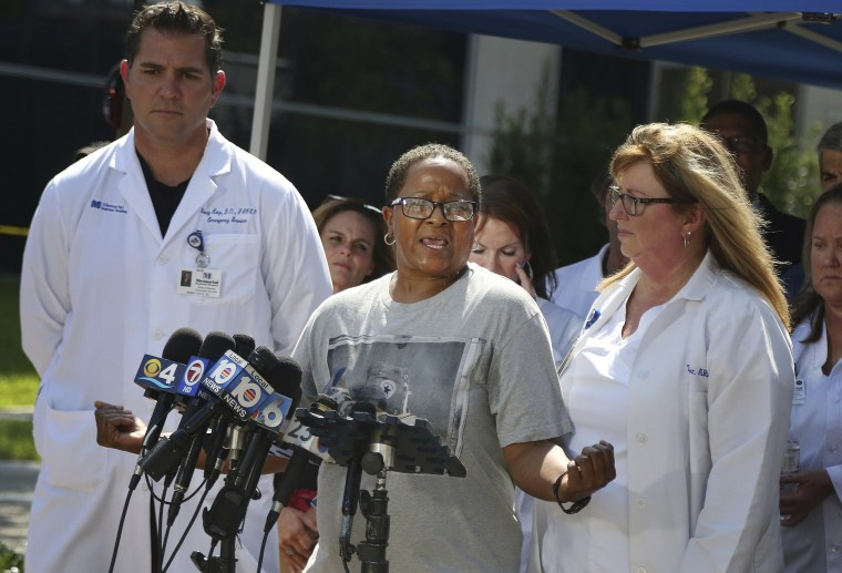 Image: Vendetta Craig, whose mother was a patient at the facility