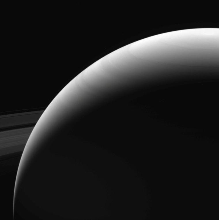Image: Saturn's northern hemisphere was taken by NASA's Cassini spacecraft
