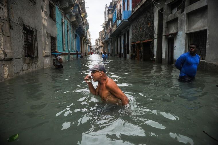 Image: TOPSHOT-CUBA-IRMA