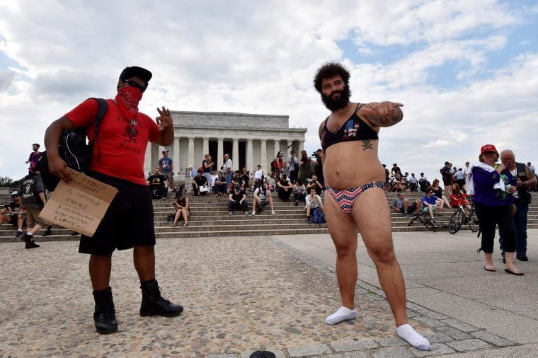 Image: US-POLITICS-PROTEST-JUGGALO