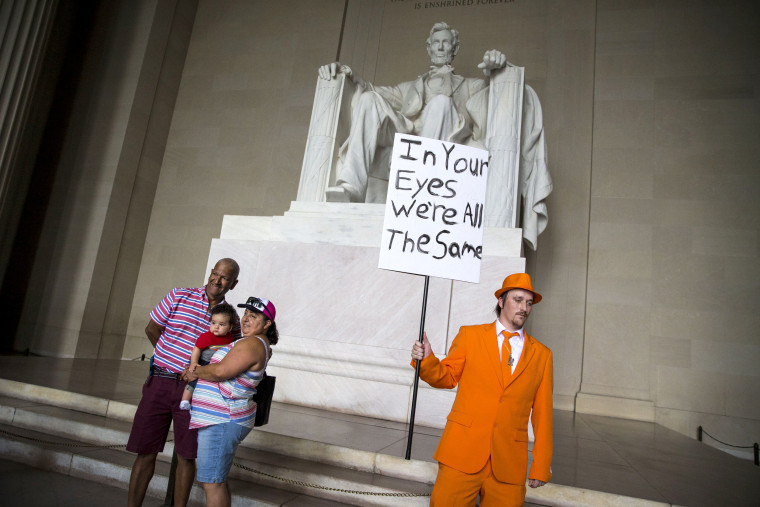 Image: Insane Clown Posse Fans, Or Juggalos, Protest FBI Gang Designation
