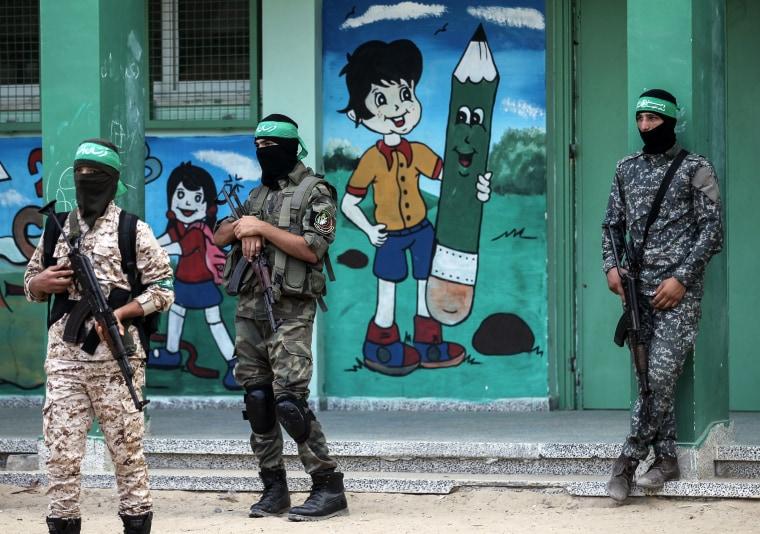 Image: PALESTINIAN-ISRAEL-GAZA-CONFLICT-HAMAS