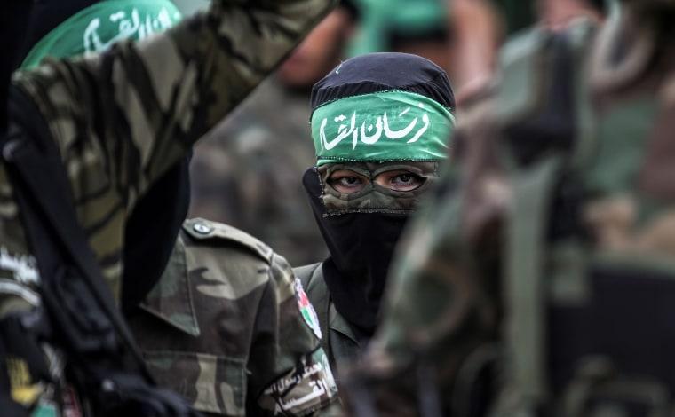 Image: TOPSHOT-PALESTINIAN-ISRAEL-GAZA-CONFLICT-HAMAS