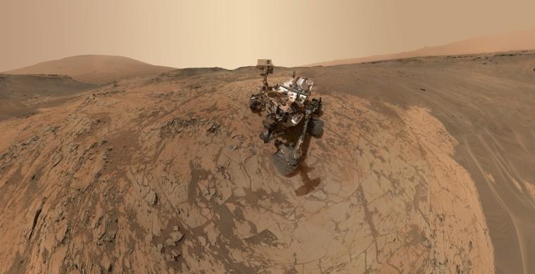 Image: Mars Curiosity rover