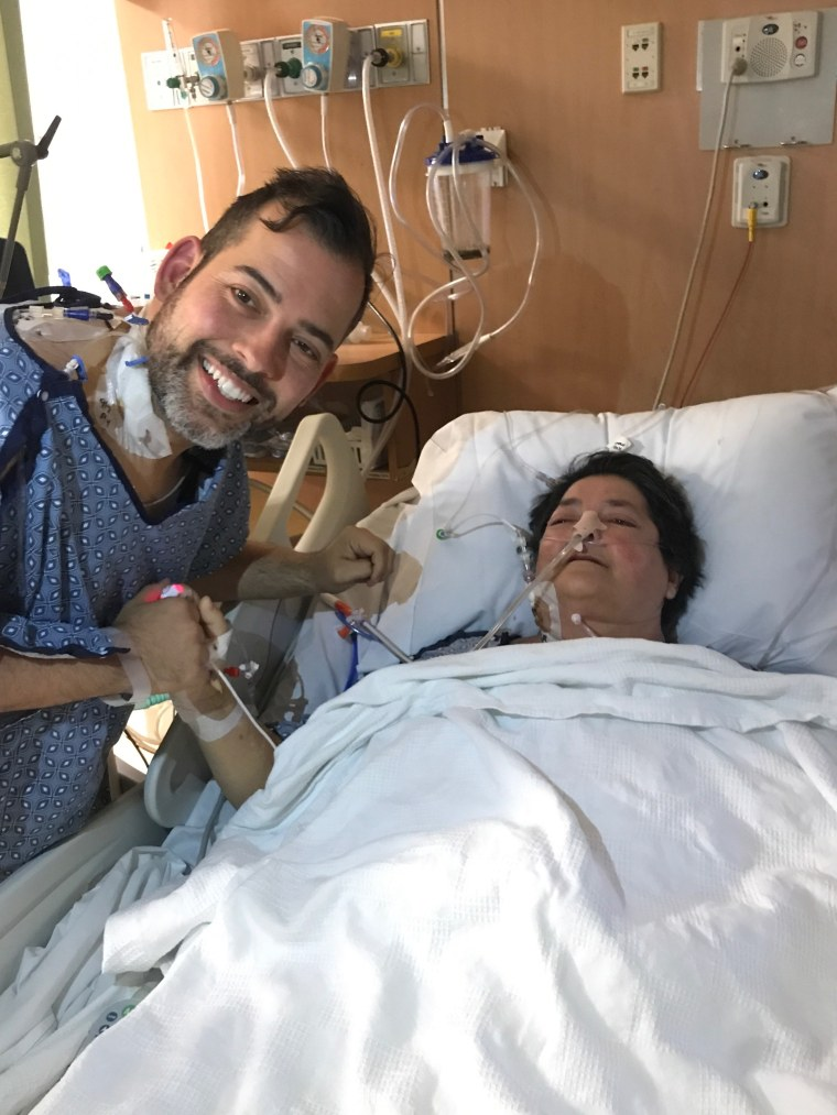 Brian Bolduc donated part of his liver to his mom