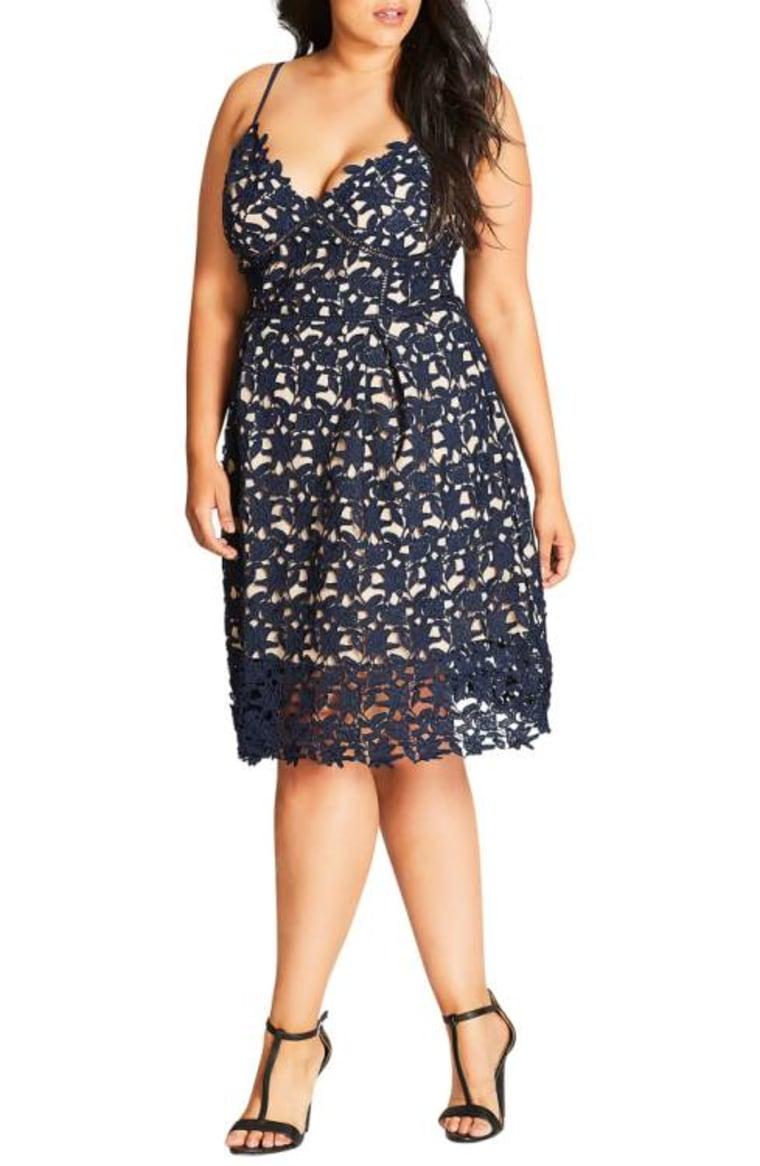So Fancy Lace Plus Size Dress