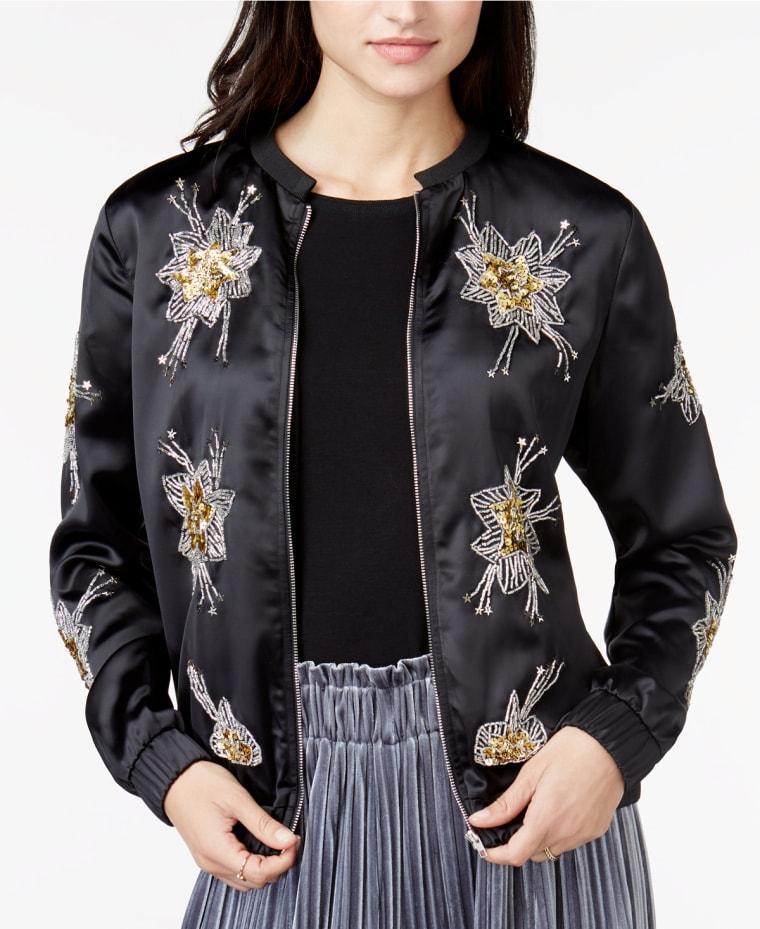 Bomber jacket, style, shopping, macys, fashion