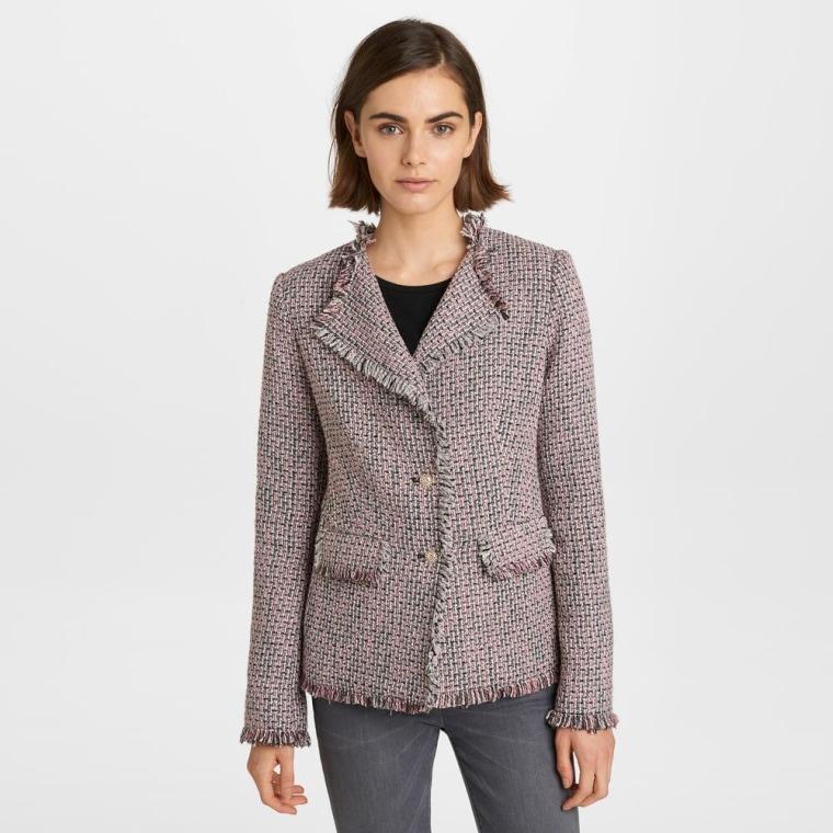 tweed jacket, shopping, fall fashion