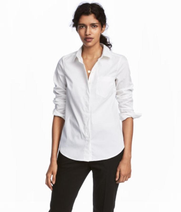 white shirt, fall fashion, style