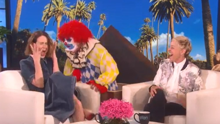 Sarah Paulson on Ellen.