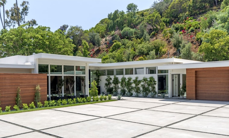 Cindy Crawford Beverly Hills home