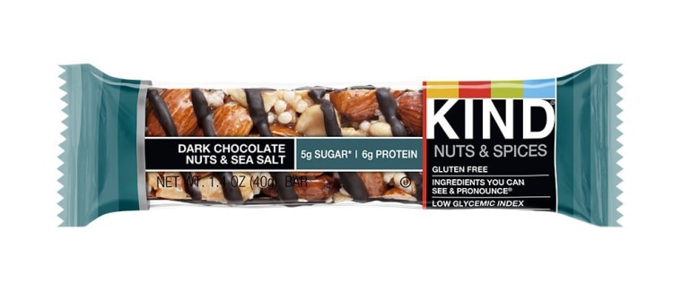 Boxes of Kind Snacks' Dark Chocolate Nuts & Sea Salt bars have been recalled after the packaging failed to declare the bars contained walnuts. Individual packages were properly labeled.