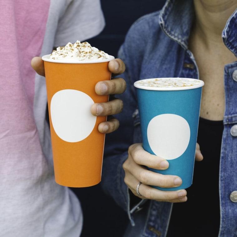 Starbucks fall cups