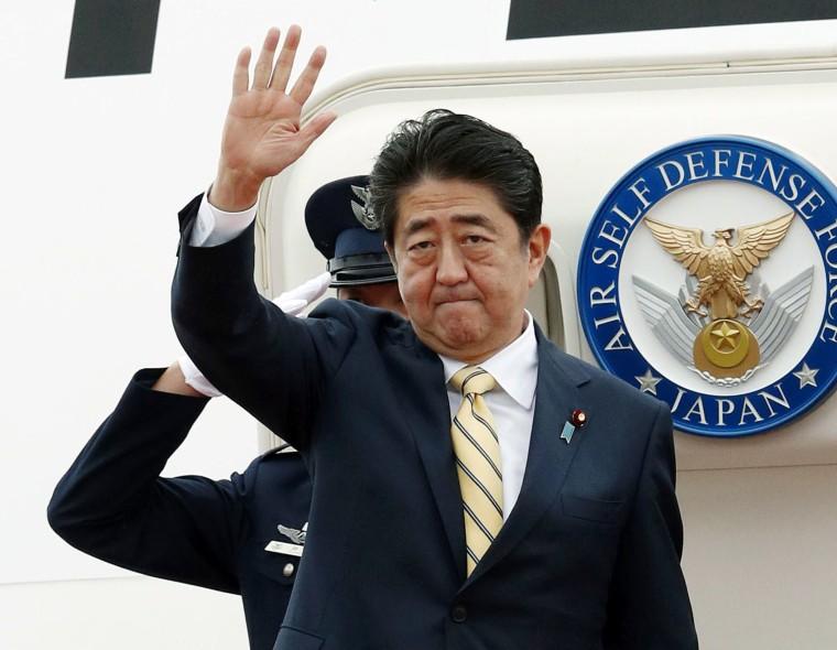 Image: Japanese Prime Minister Shinzo Abe