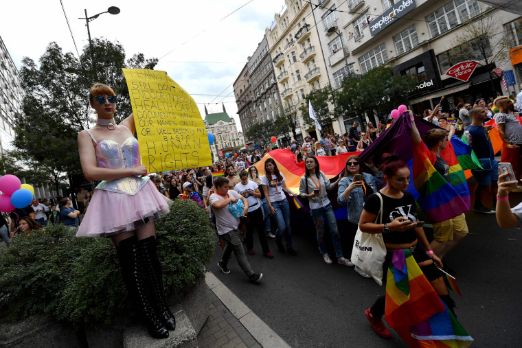 Image: SERBIA-CULTURE-GAY-PRIDE
