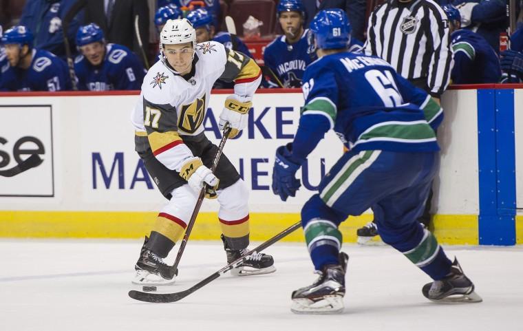 Image: Las Vegas Golden Knights v Vancouver Canucks