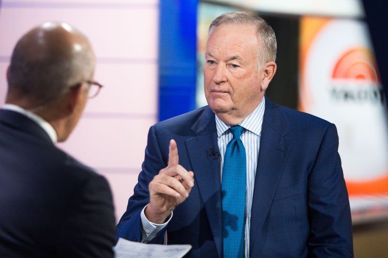 Image: Bill O'Reilly is interviewed by Matt Lauer on the TODAY Show