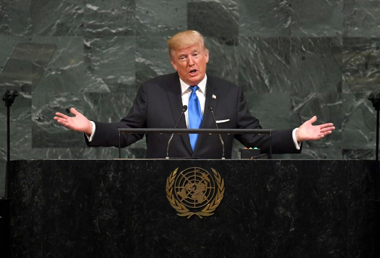 Image: Trump addresses the 72nd Annual UN General Assembly