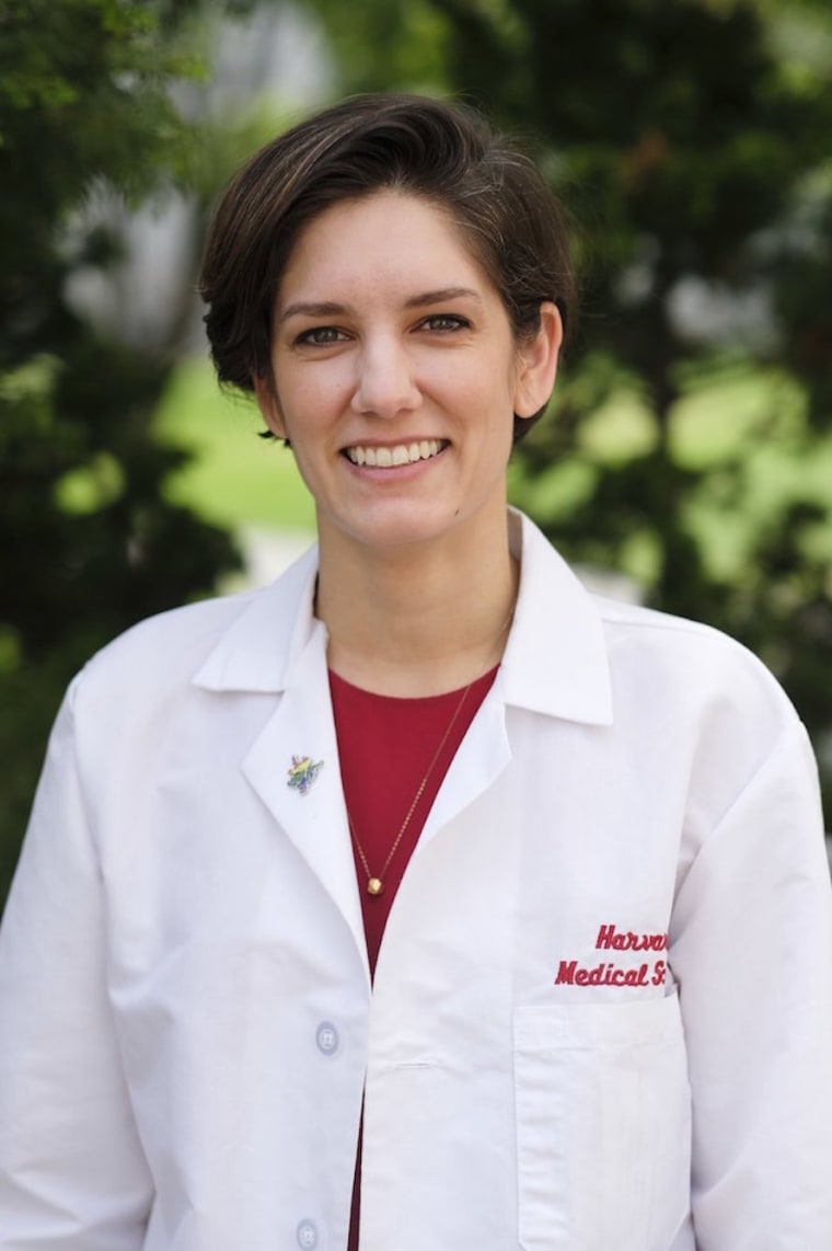 Harvard Medical School student Claire Learmonth