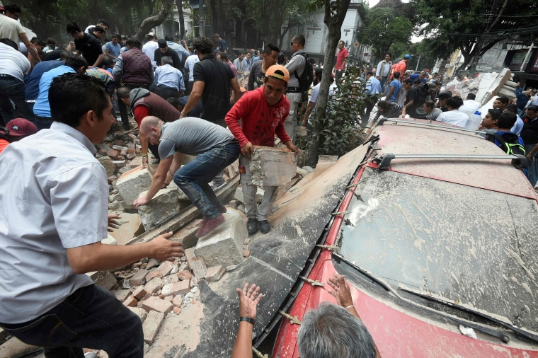 Image: Mexico Earthquake Aftermath