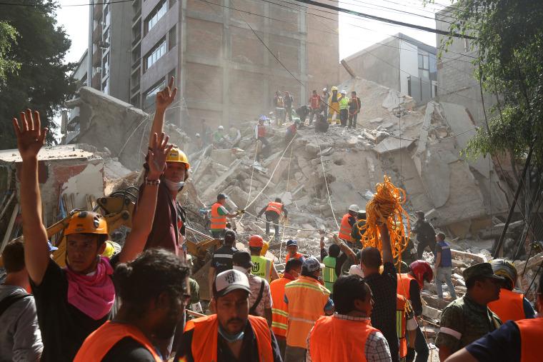 Image: Mexico Earthqauke Aftermath