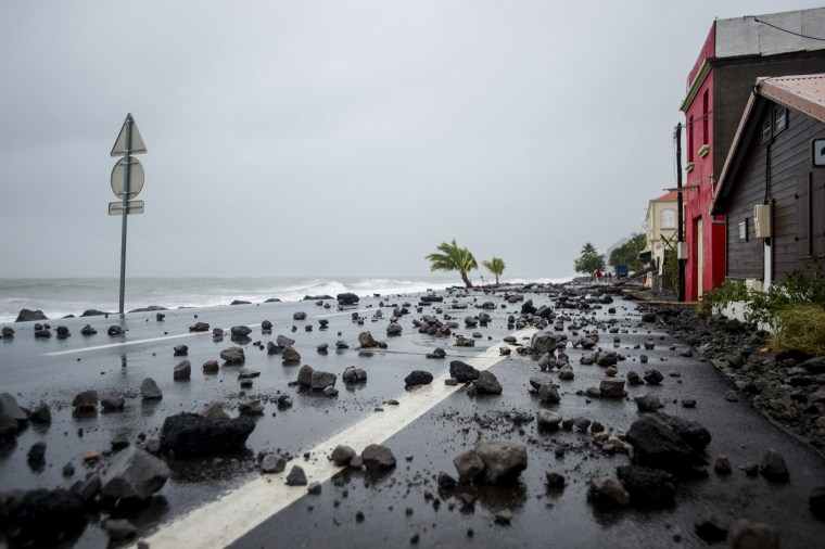 Image: TOPSHOT-FRANCE-OVERSEAS-CARIBBEAN-WEATHER-HURRICANE