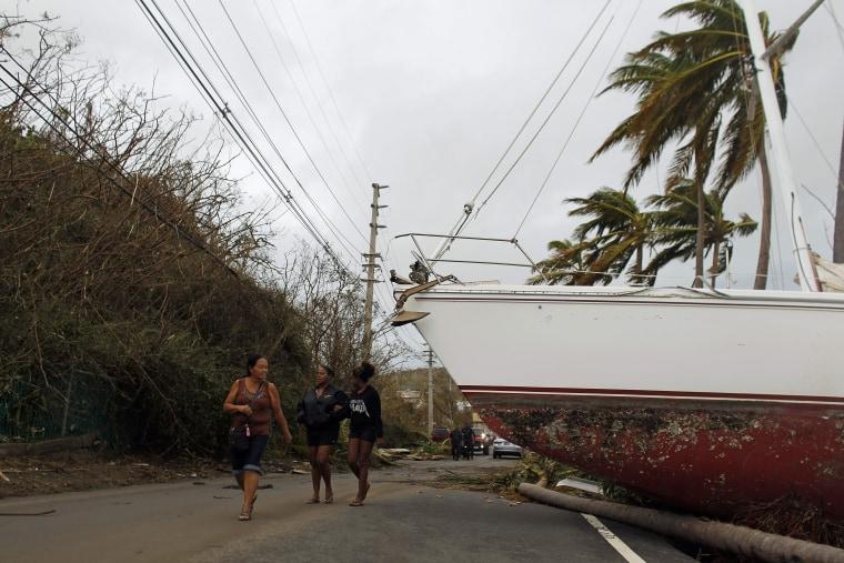 Image: PUERTORICO-CARIBBEAN-WEATHER-HURRICANE