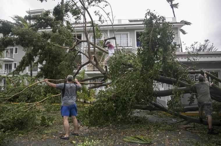 Image: Dominican Republic Hurricane Maria