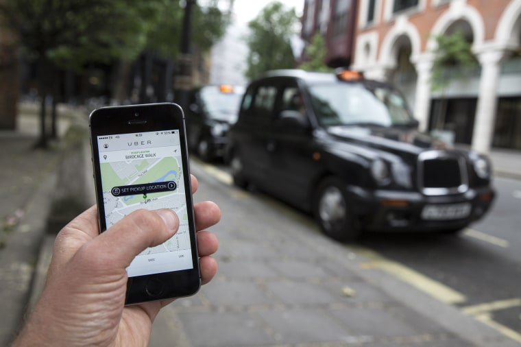 Image: London Uber