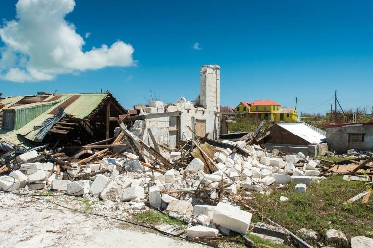Image: South Caicos prepares itself for Hurricane Maria