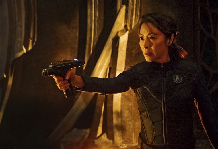 "Michelle Yeoh as Captain Philippa Georgiou in ""Star Trek: Discovery"""