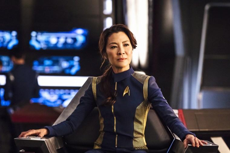 "Michelle Yeoh as Captain Philippa Georgiou in \""Star Trek: Discovery\"""